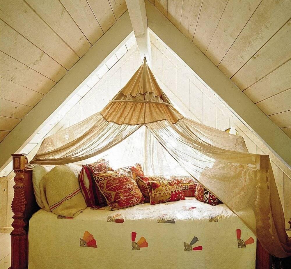 13 rustic bedroom design ideas - The rustic attic ...