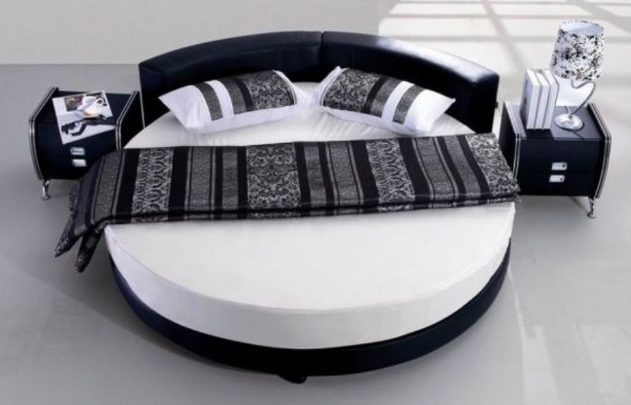 9 Round Bed Design Ideas For Modern Charm In The Bedroom