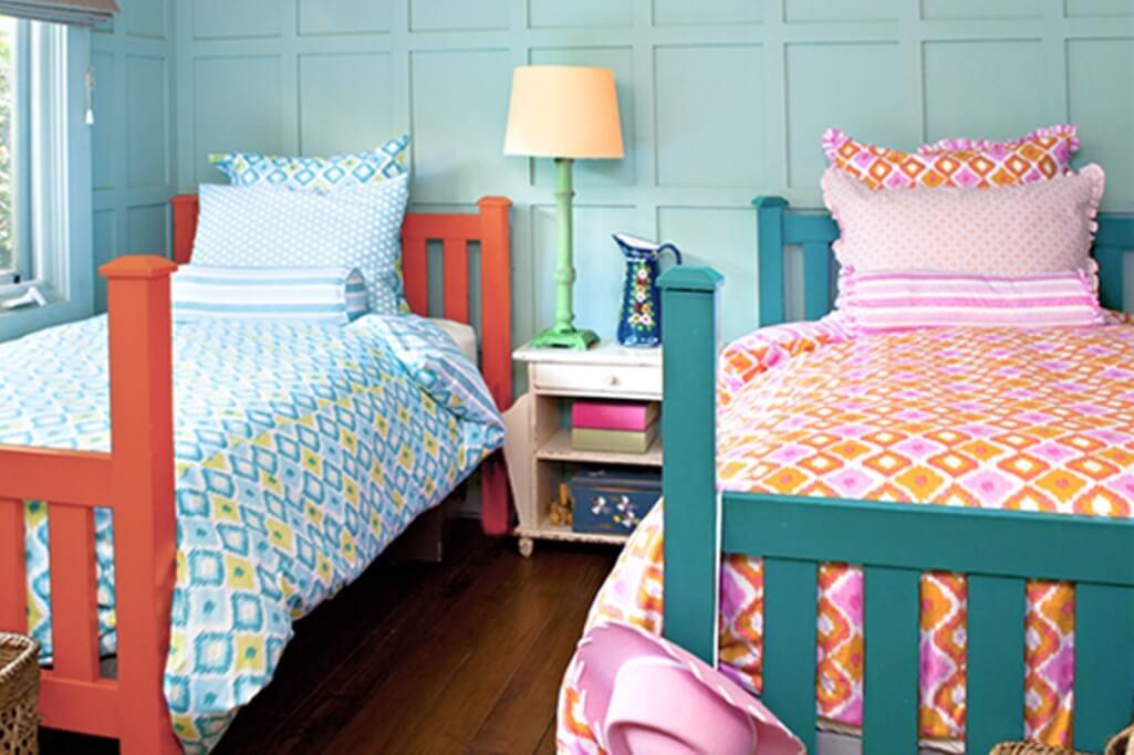 Boho Chic Twin Bedroom