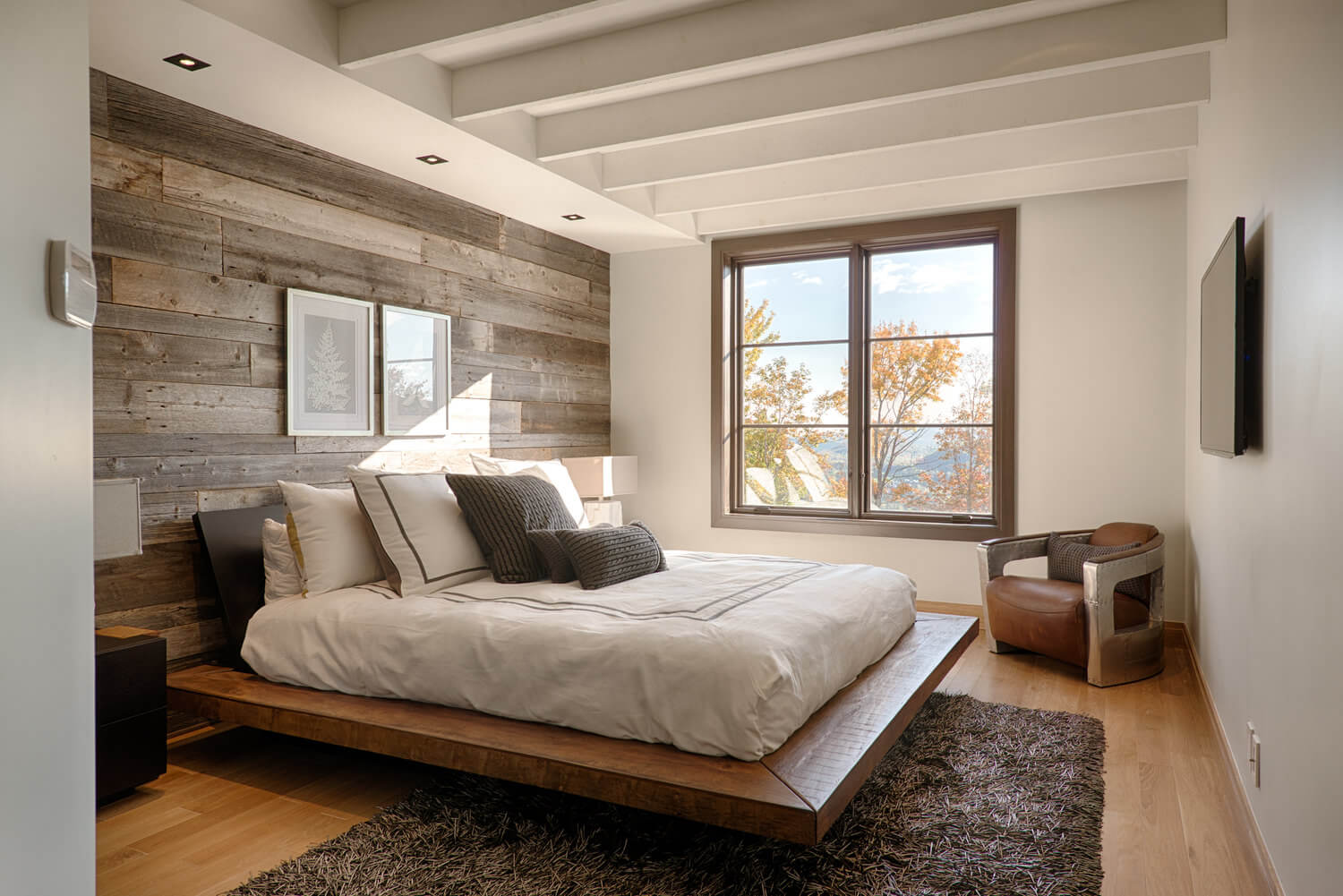 13 rustic bedroom design ideas - Chambre bois ...