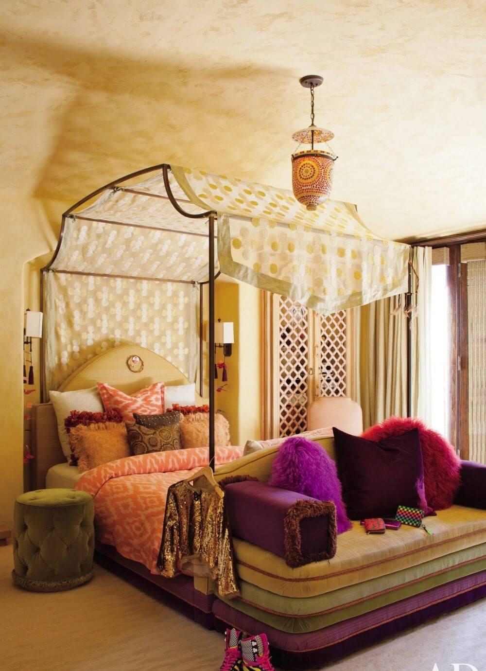 Bold Boho Chic Kid's Bedroom