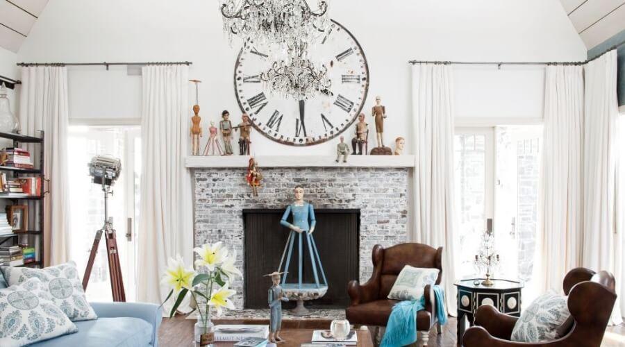Bold Shabby CHic Living Room