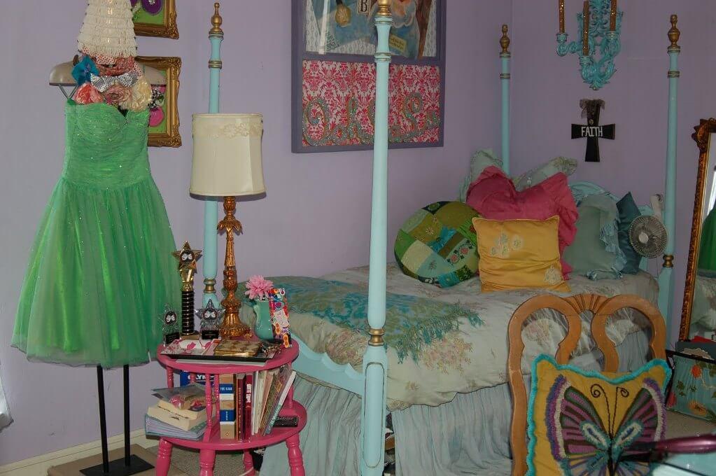 Charming Boho Chic Kid's Bedroom