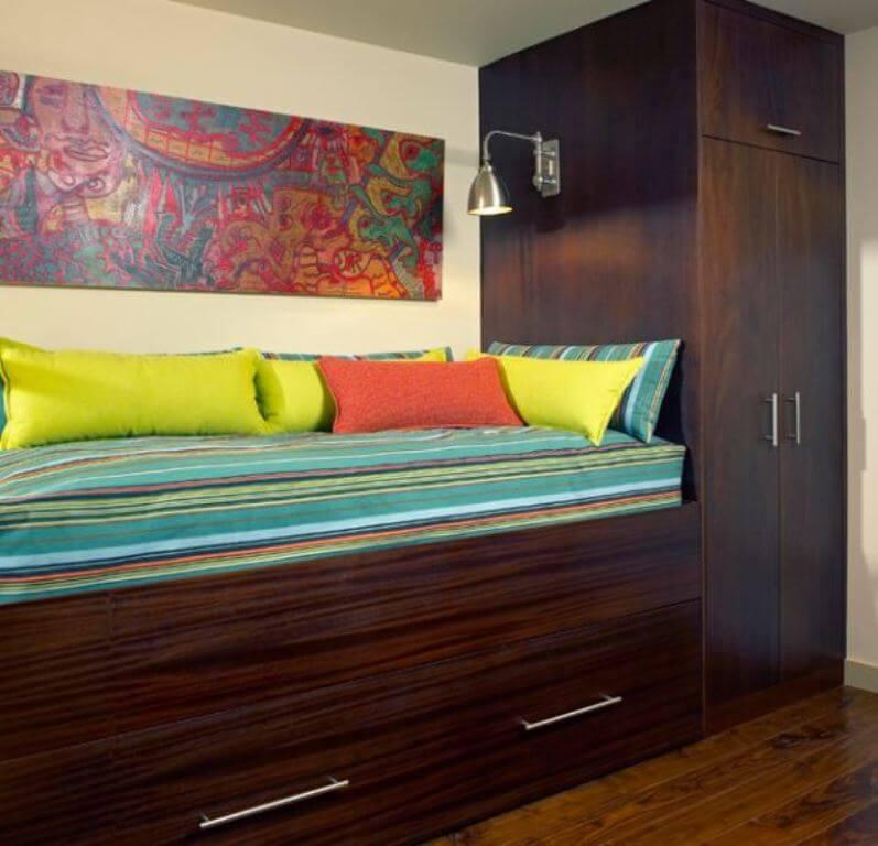 Custom Built Trundle Bed