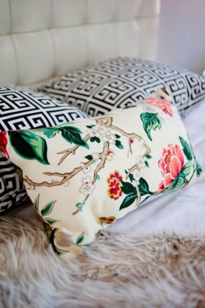 Floral Accent Pillow