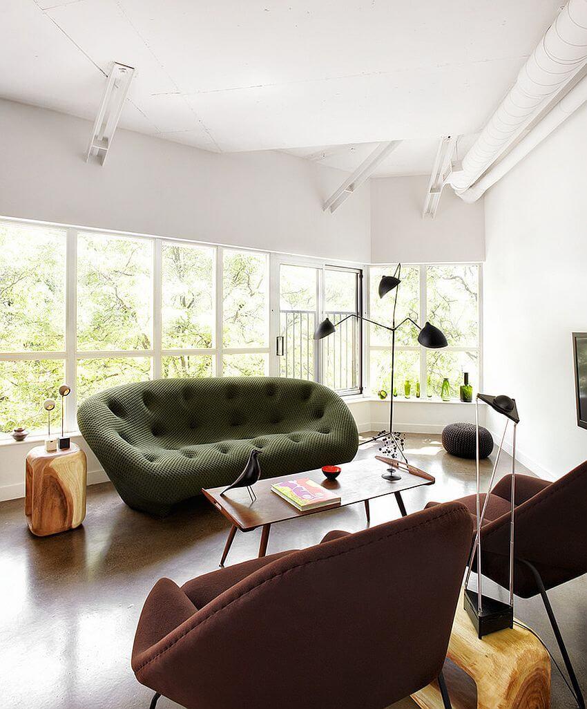 Green Ploum Sofa