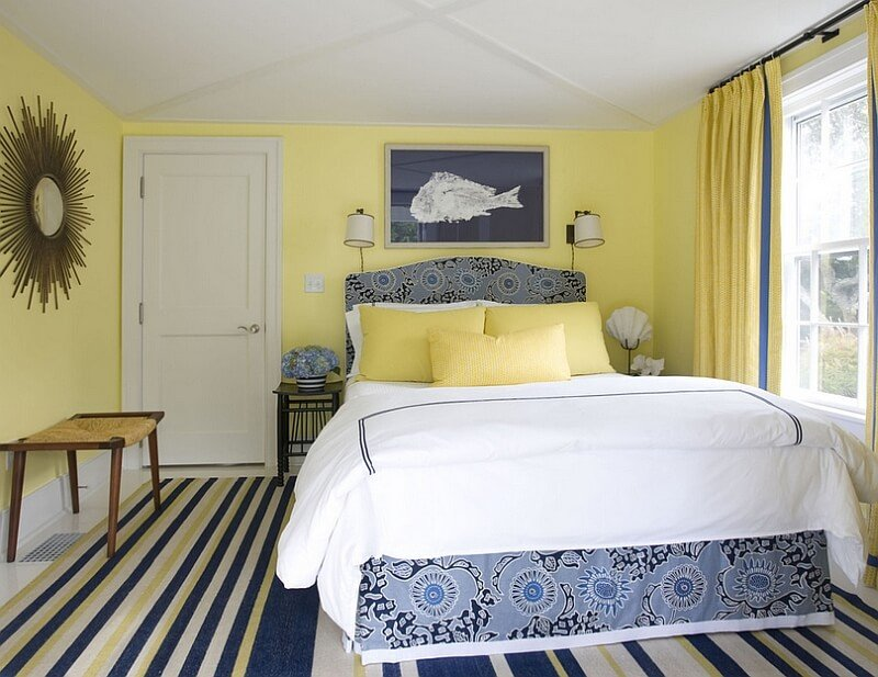 10 Yellow And Blue Interior Design Ideas For Your Home Https Interioridea