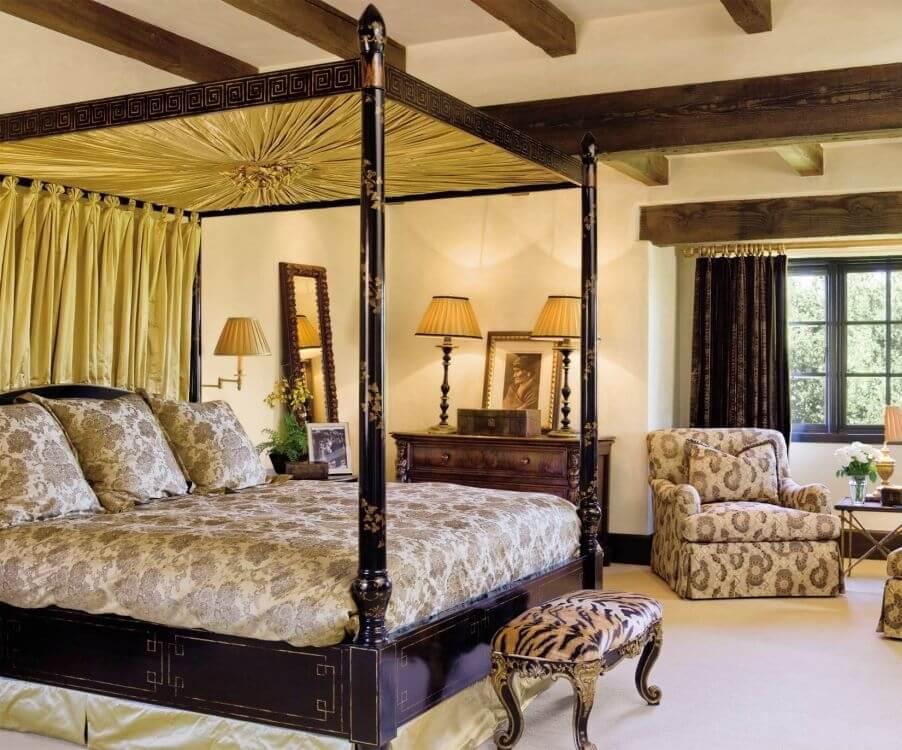 Leopard Print Bedroom Bench
