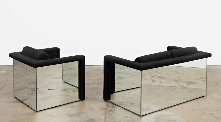 Lounge-Seating-with-Mirrored-Backs