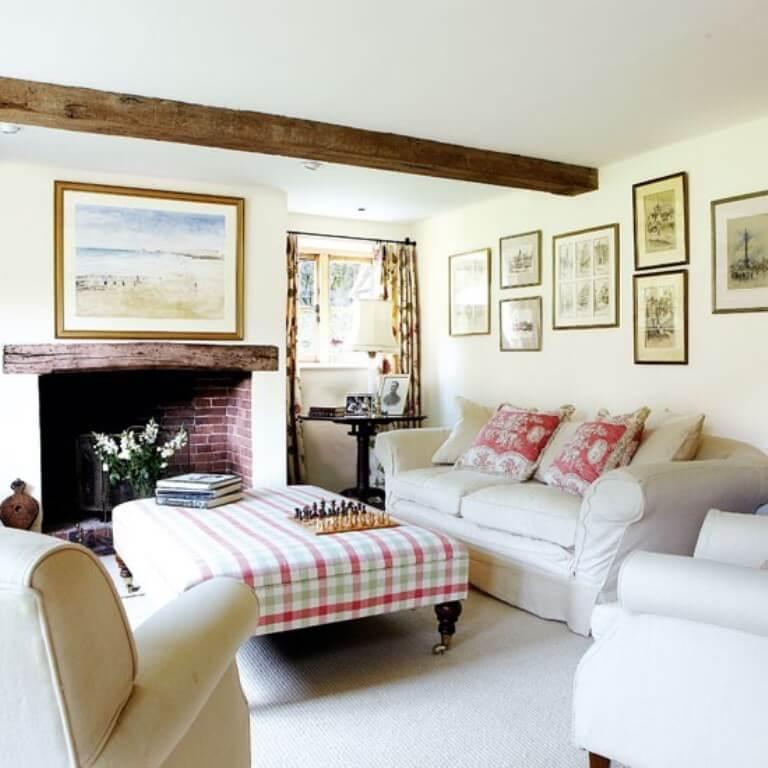9 charming farmhouse inspired living room design ideas for Farmhouse living