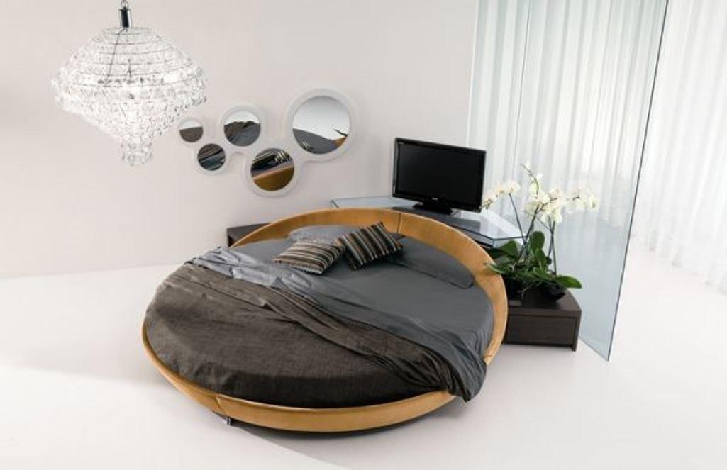 Modern Round Bed