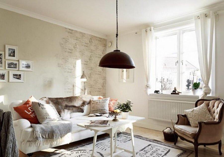 Soft Shabby Chic living Room