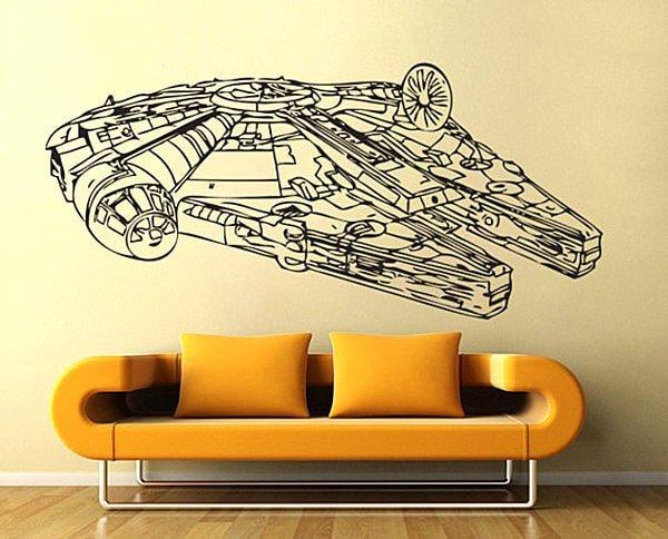 Star Wars wall art decals