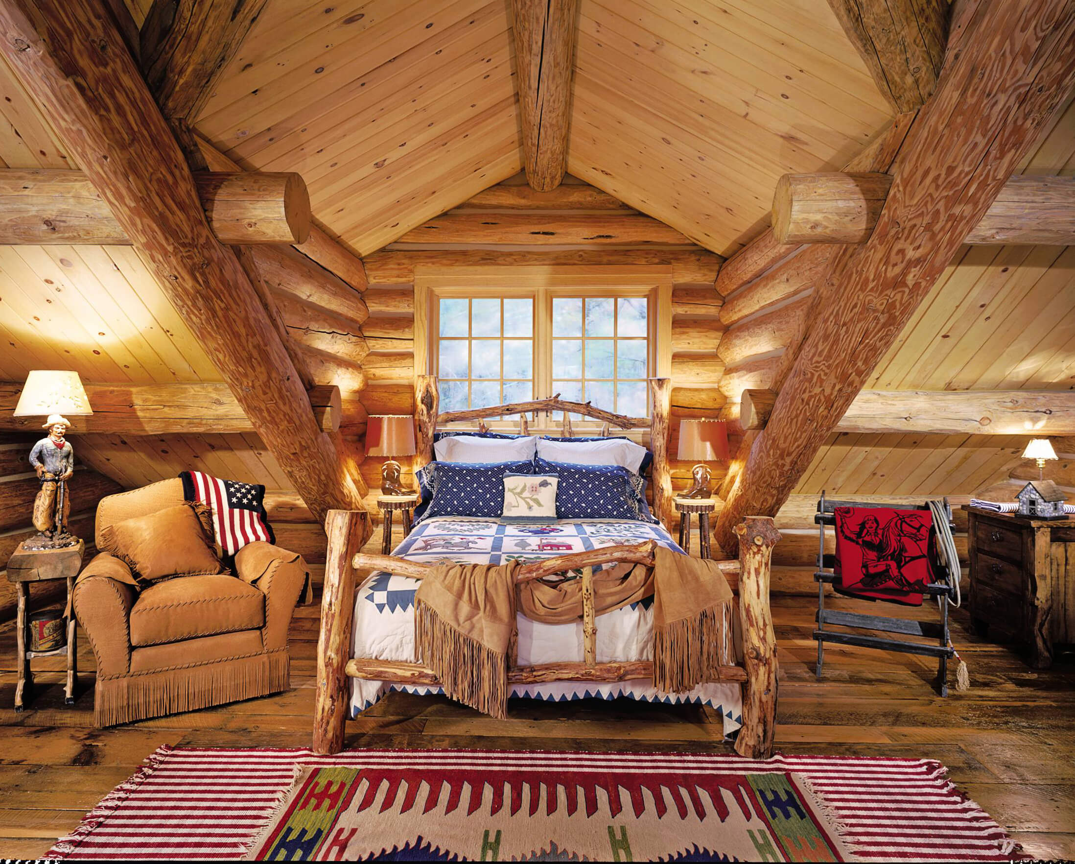 13 Rustic Bedroom Design Ideas