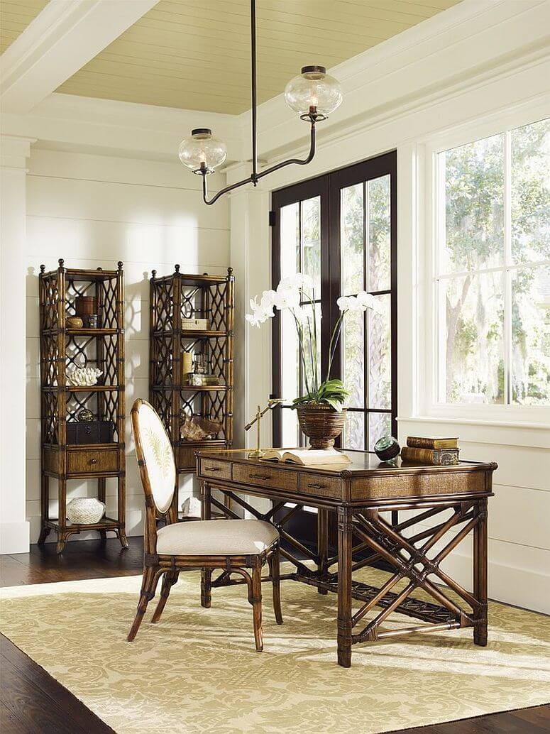 Bamboo Exotic Home Office