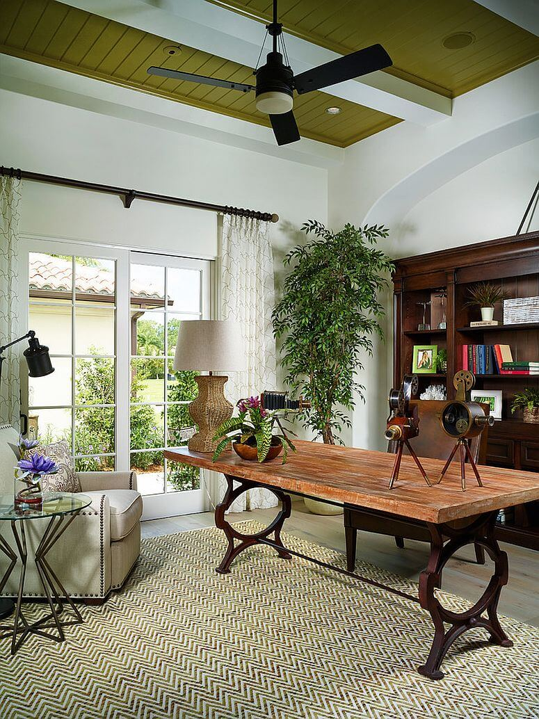 Fresh Exotic Home Office