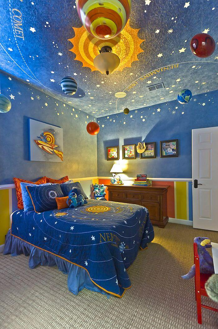 Space Inspired Ceiling