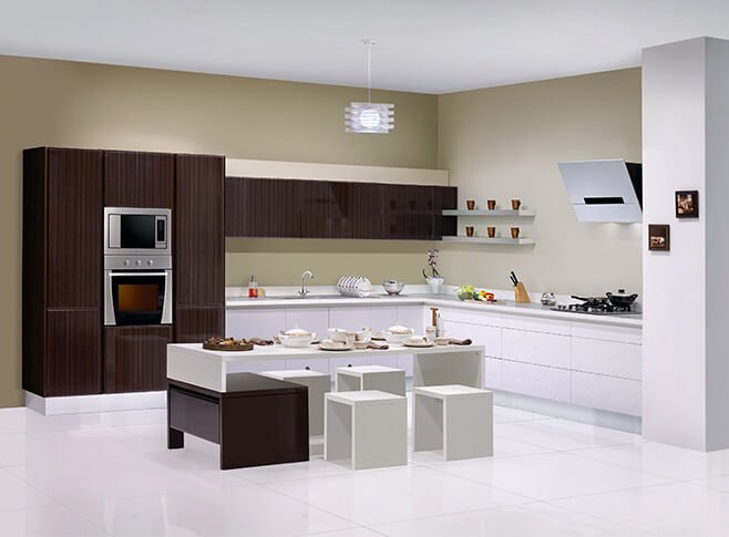 redesign your kitchen with a modular kitchen - https