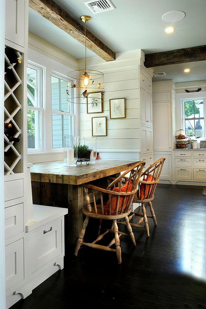 Beautiful Chic Farmhouse Dining Room