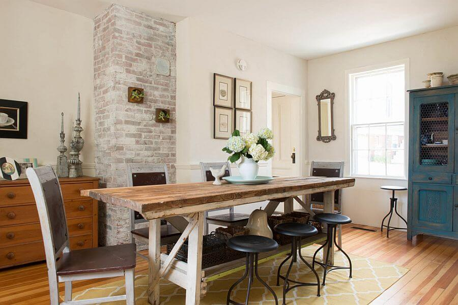 Bright Chic Farmhouse Dining Room