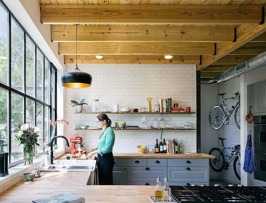 10 Contemporary Industrial Kitchen Design Ideas - Interior ...