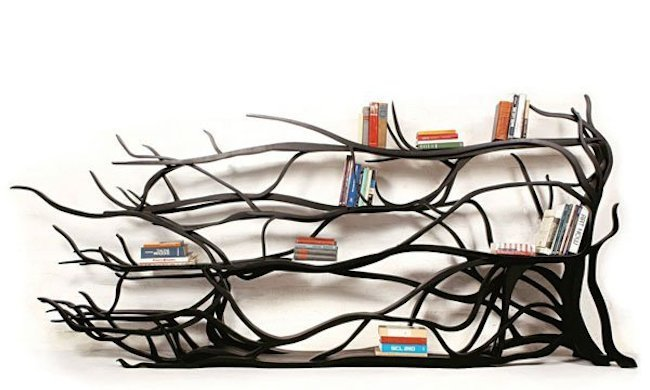 Cool Tree Shaped Bookshelf