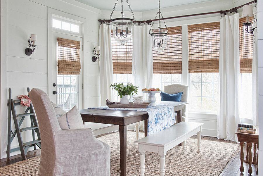 Natural Chic Farmhouse Dining Room