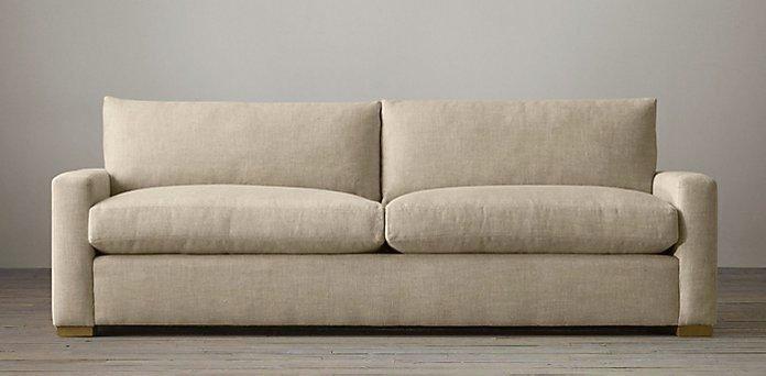 Petite Creamy White Sofa