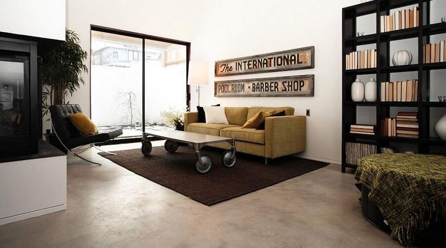 SLeek Coffee Table on Wheels