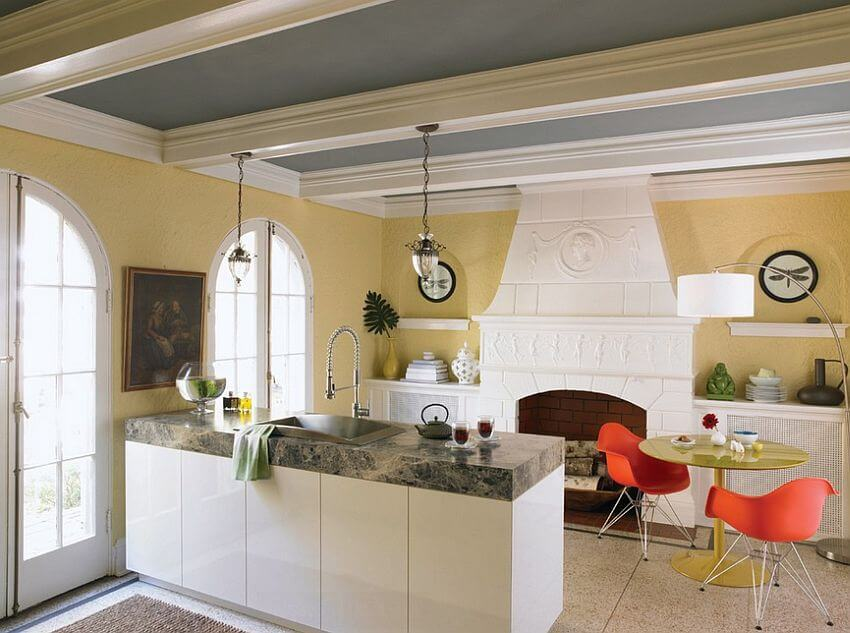 10 charming gray and yellow kitchen design ideas https 11 trendy ideas that bring gray and yellow to the kitchen