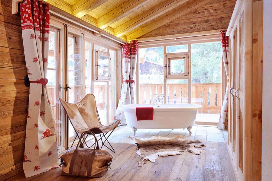 Bright Rustic Bathroom