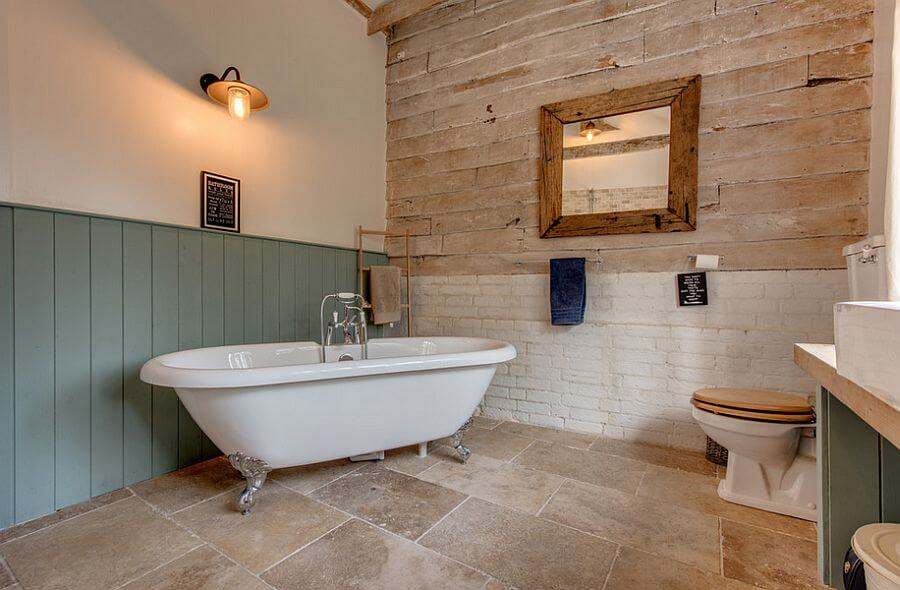 Cool Rustic Bathroom