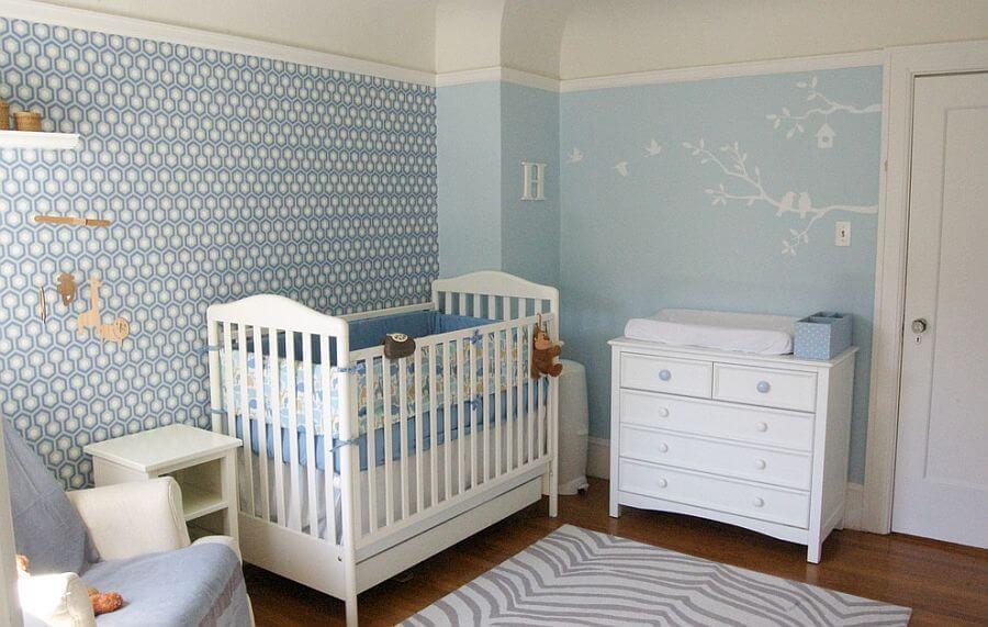 Soft Blue Nursery