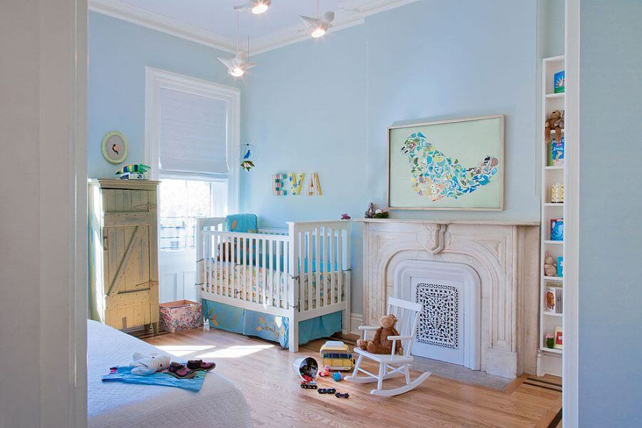 Soothing Blue Nursery