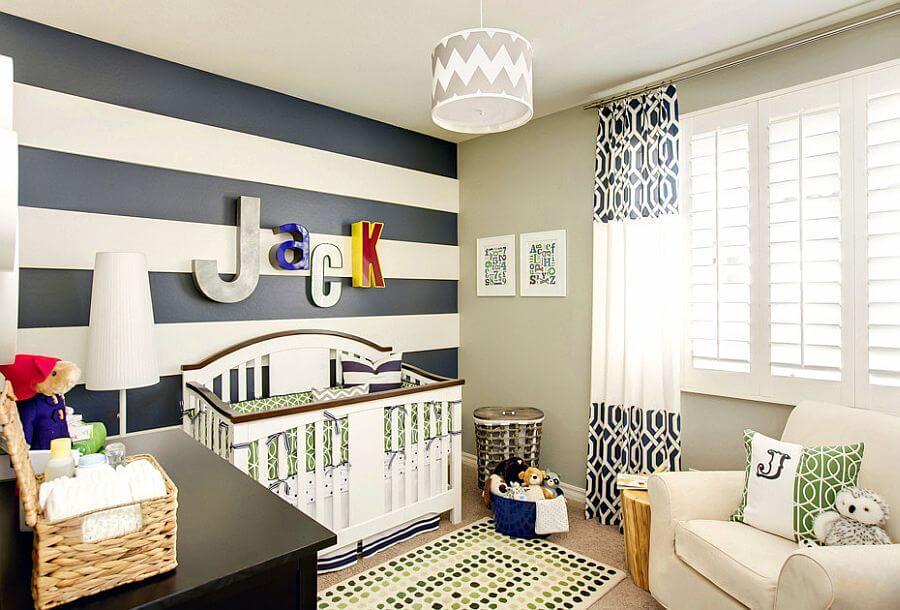 Striped Blue Nursery