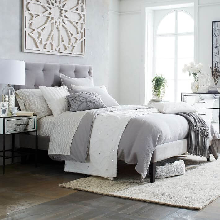 8 Chic Tufted Headboard Design Ideas For Modern Bedroom ...