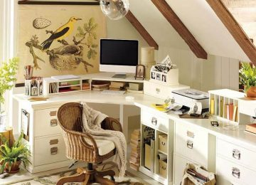 TOP-11 coolest ideas for a cozy home office layout in small apartments.