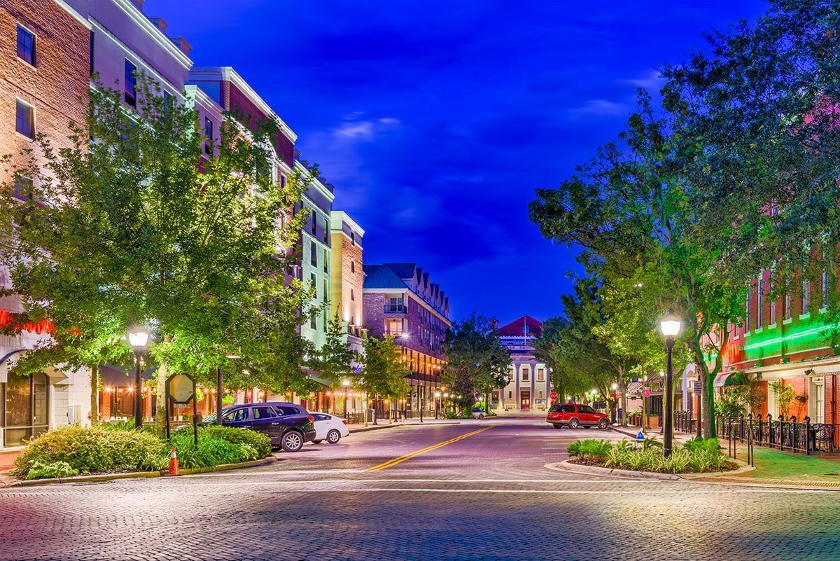 Florida city street