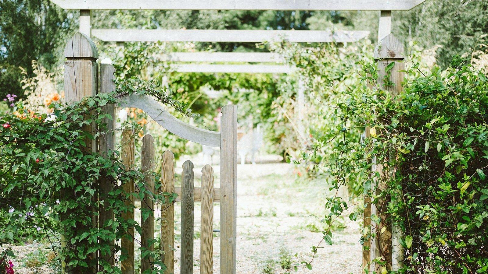 Green Garden Gate