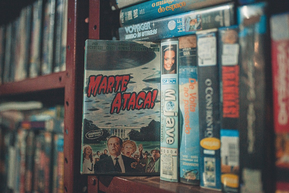 VHS Tapes in Epic Movie Collection