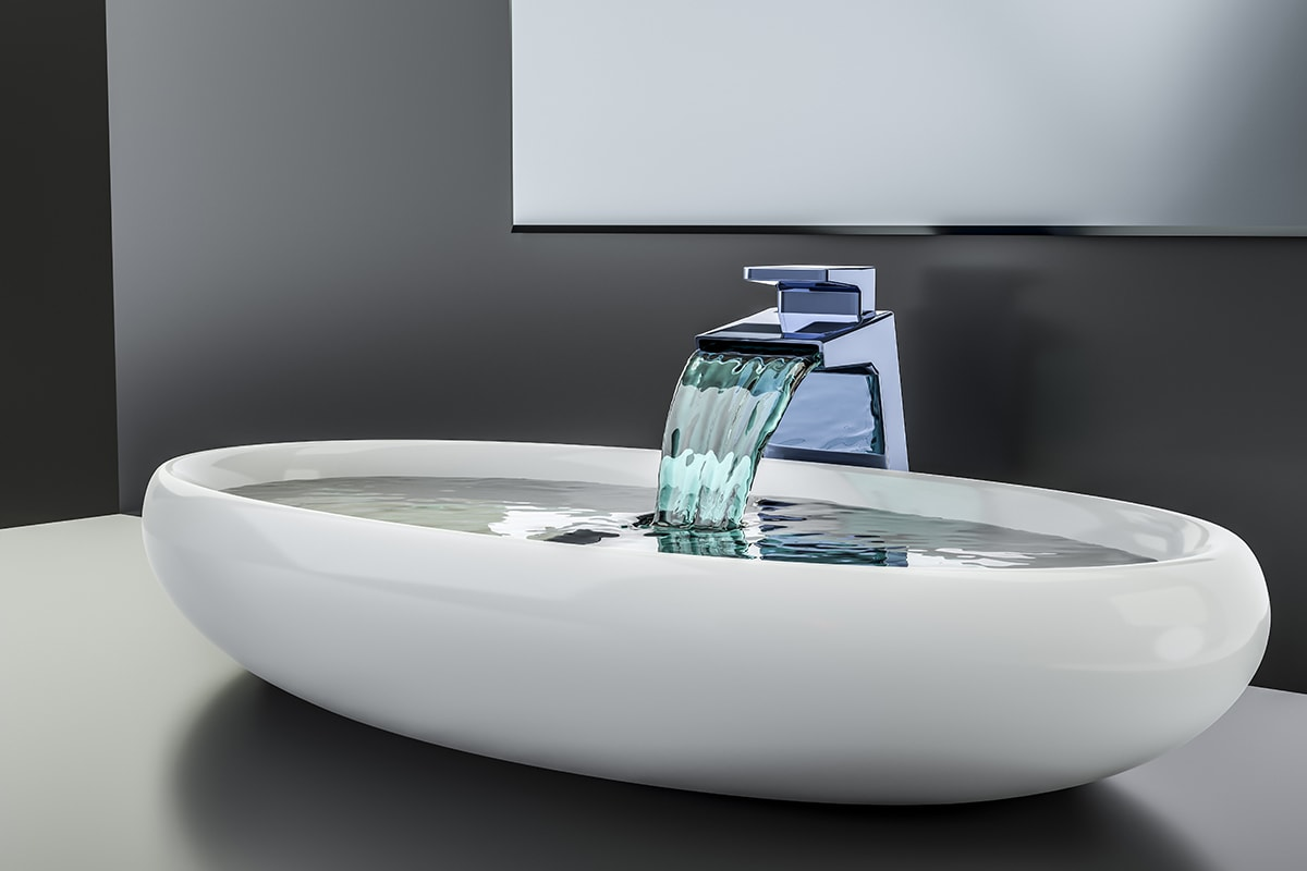 Fancy bathroom sink