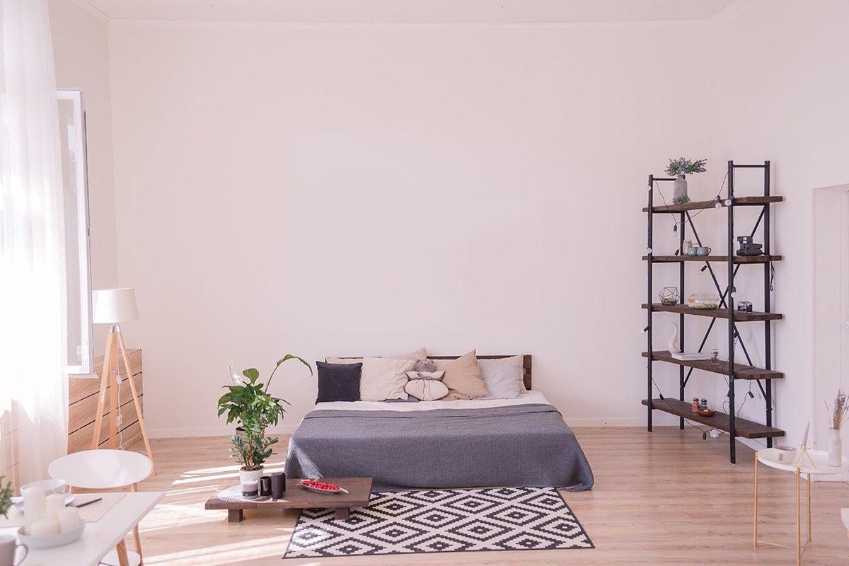 Bedroom loft interior