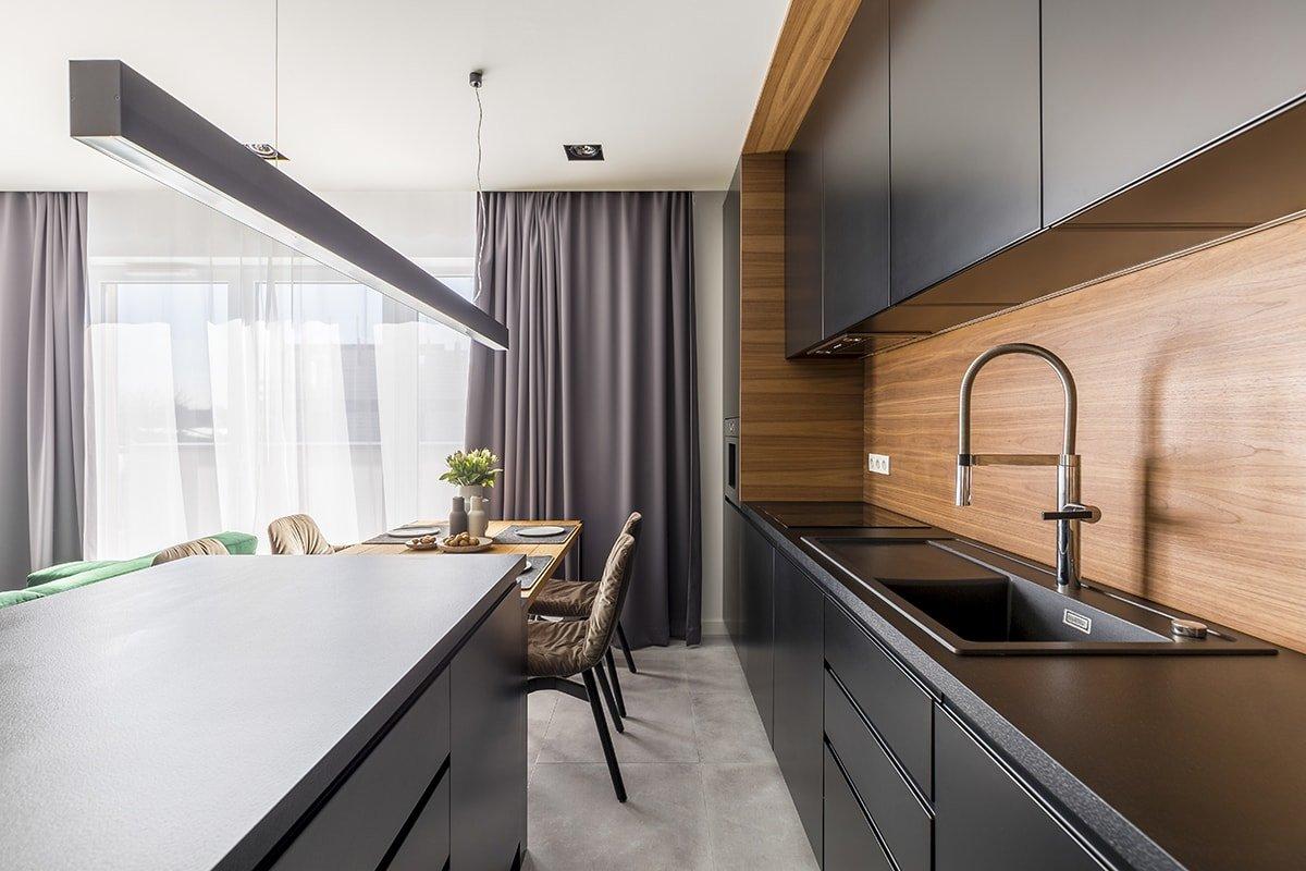 Beautiful kitchen counter tops