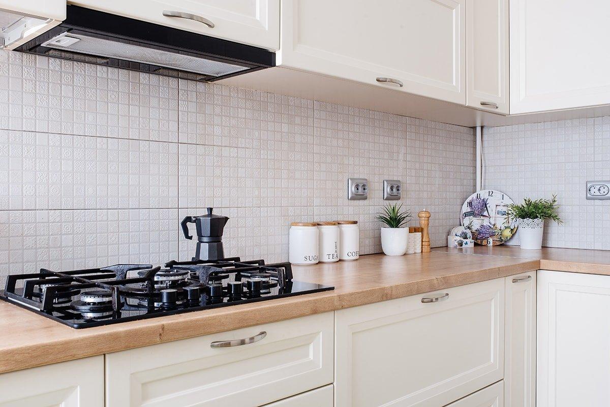 Kitchen with custom millwork
