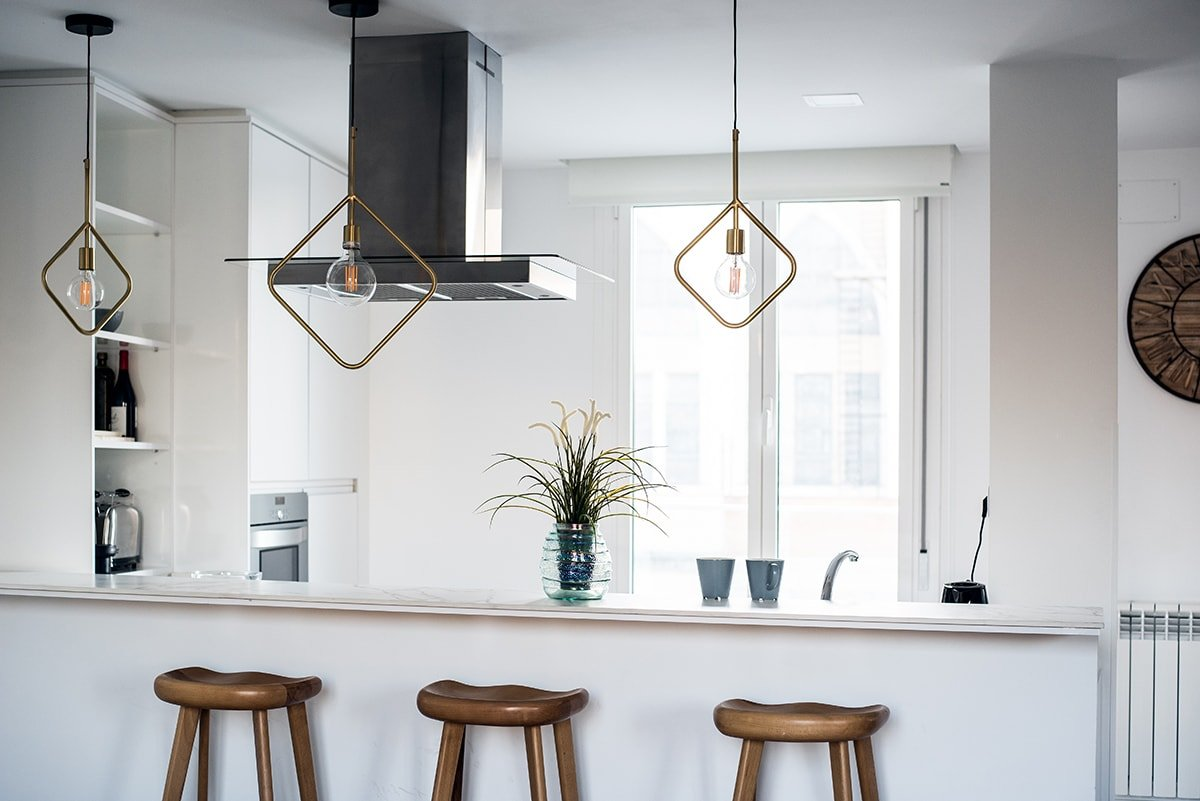Trendy kitchen lighting