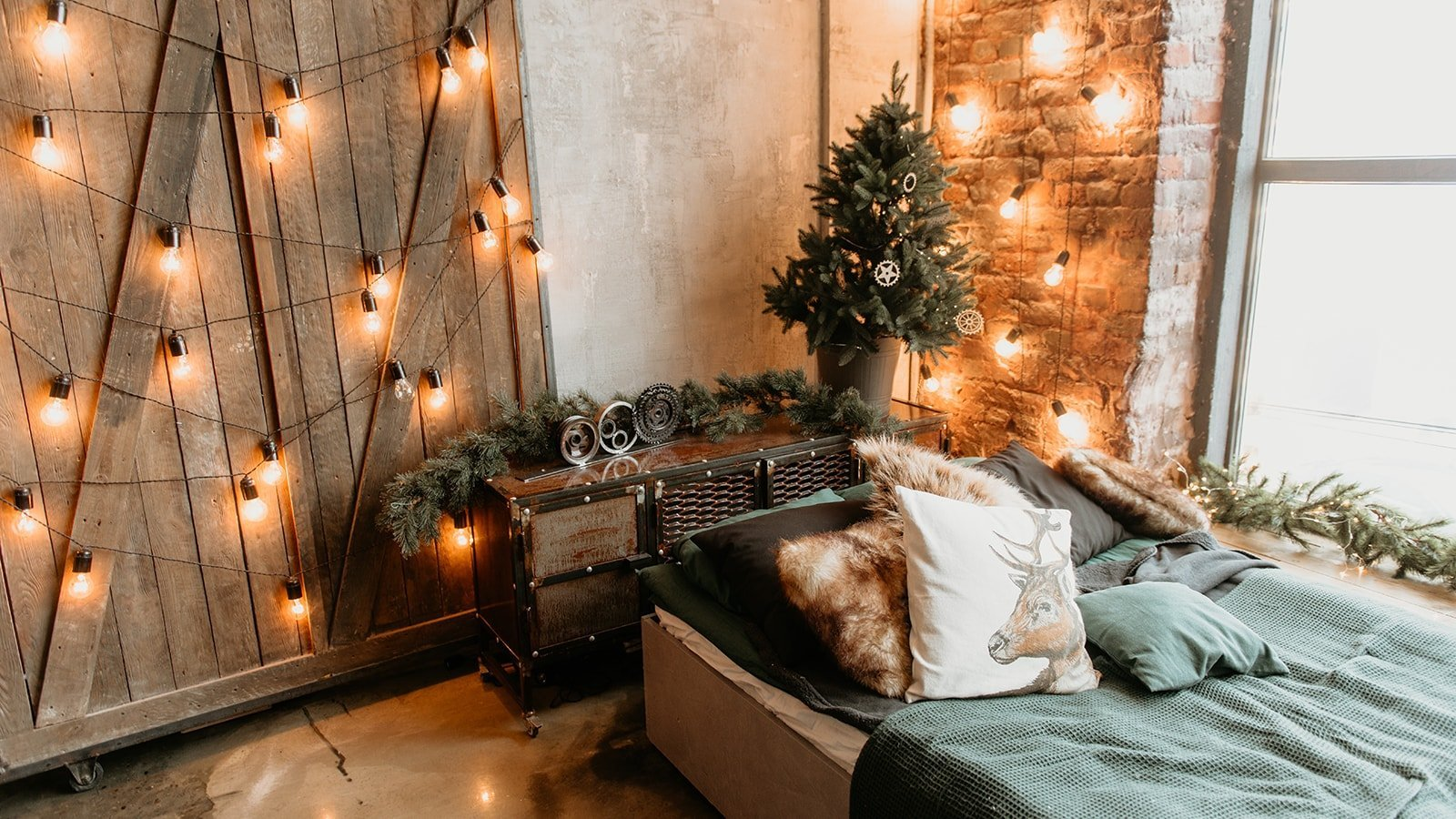 Hygge themed loft