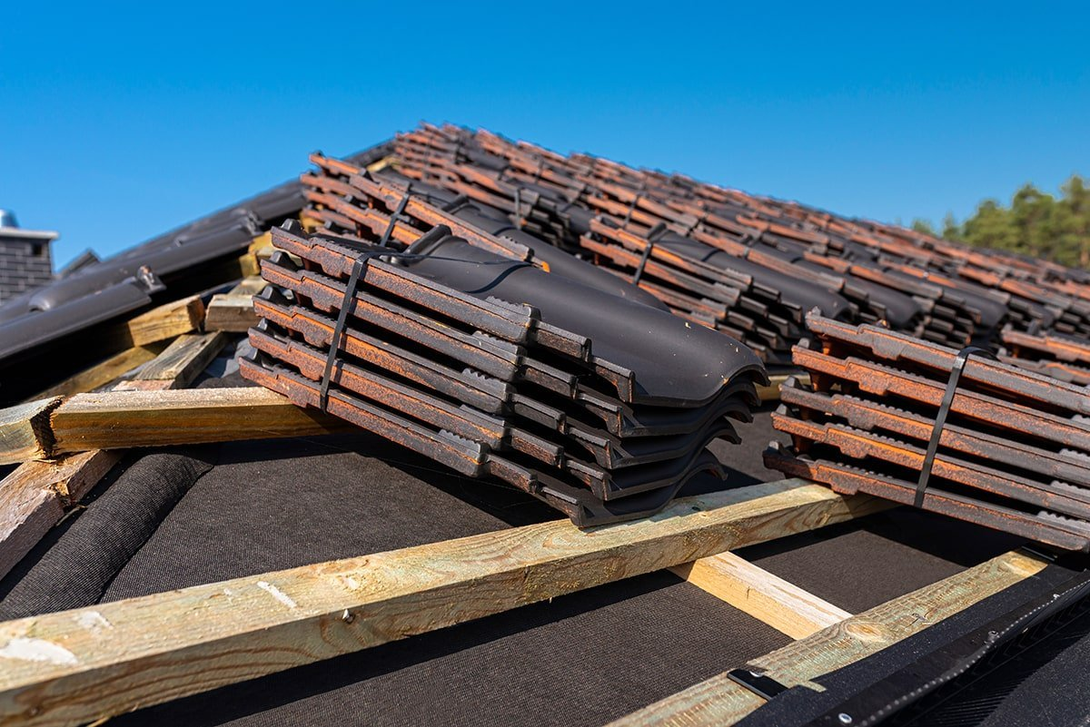 Roof tiles for roof replacement