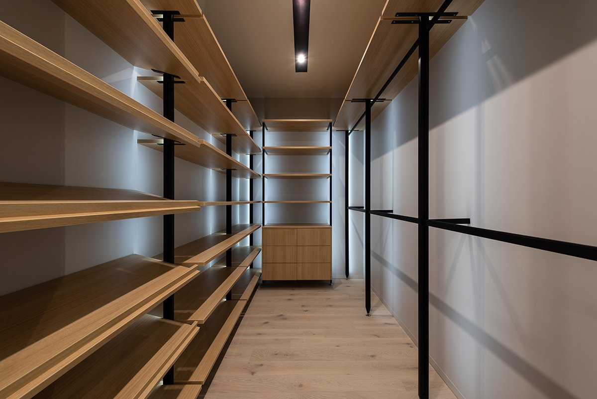 New closet interior
